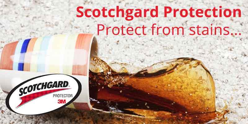 Scotchgard protection carpet and upholstery